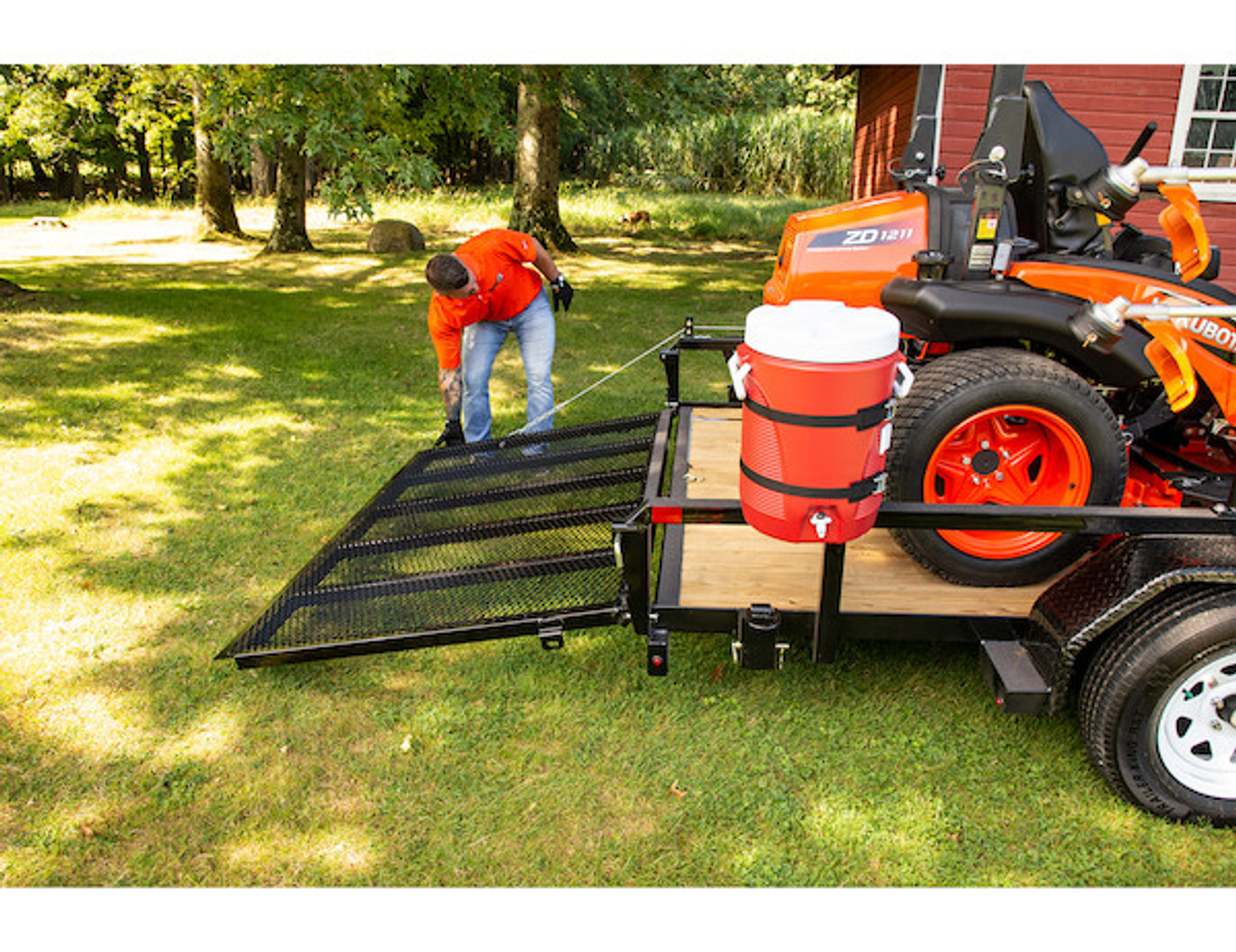 Buyers 5201000 EZ Gate™ Tailgate Assist for Landscaping Trailers and Open Style Trailers Picture # 8