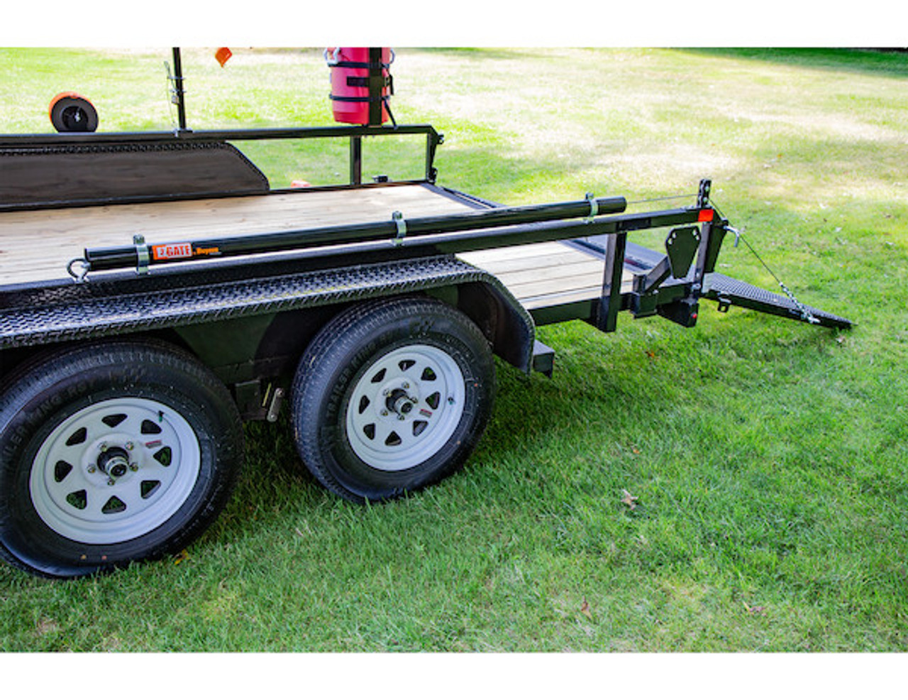 Buyers 5201000 EZ Gate™ Tailgate Assist for Landscaping Trailers and Open Style Trailers Picture # 9