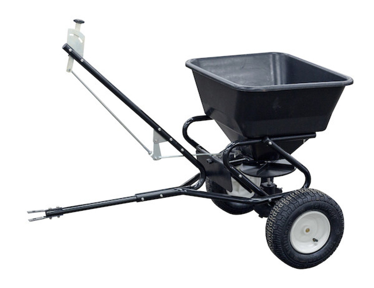 Buyers TB150BG Tow Behind Broadcast Spreader for small tractors, utility vehicles and ATVs Picture # 1