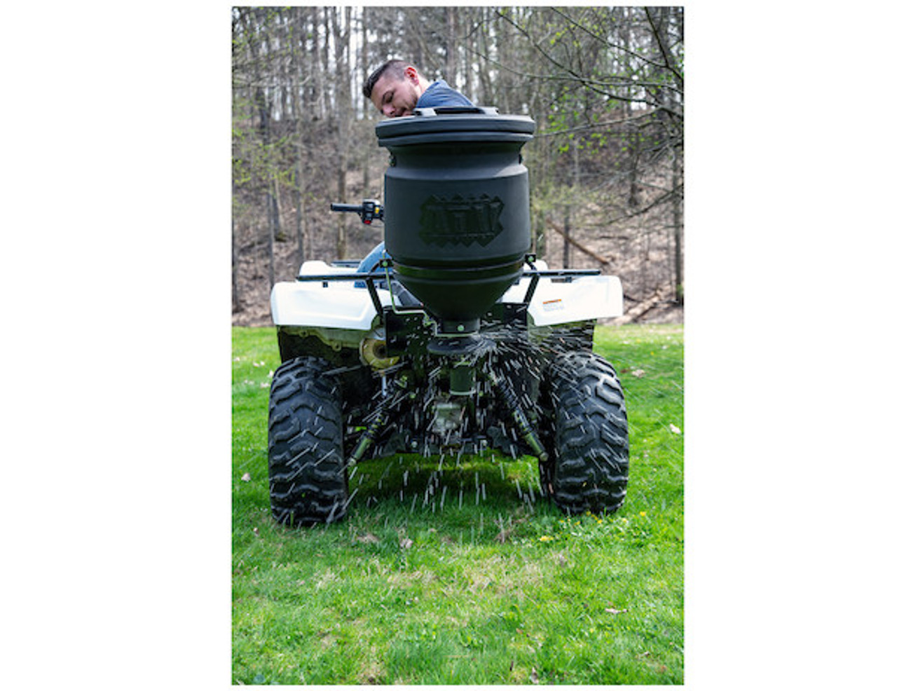 Buyers ATVS15A Vertical Mount ATV All Purpose Spreader Picture # 1