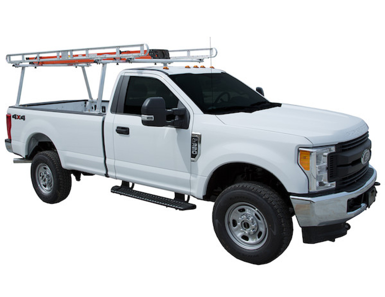 BUYERS 1501400 Clear Anodized Aluminum Truck Ladder Rack Picture # 1