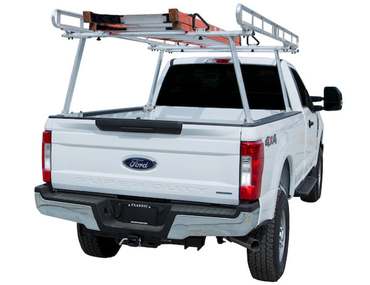BUYERS 1501400 Clear Anodized Aluminum Truck Ladder Rack Picture # 2