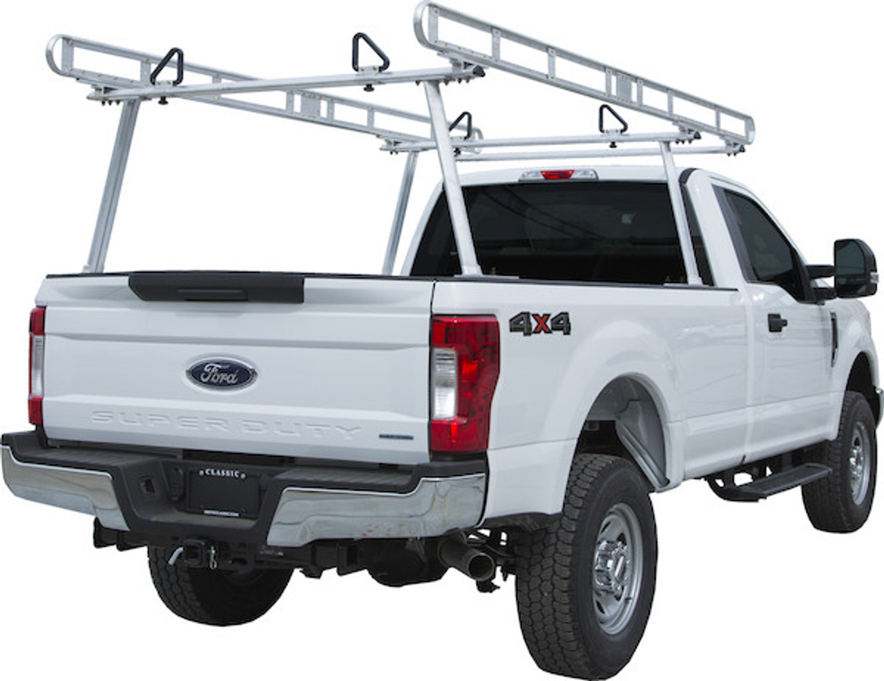 BUYERS 1501400 Clear Anodized Aluminum Truck Ladder Rack Picture # 3