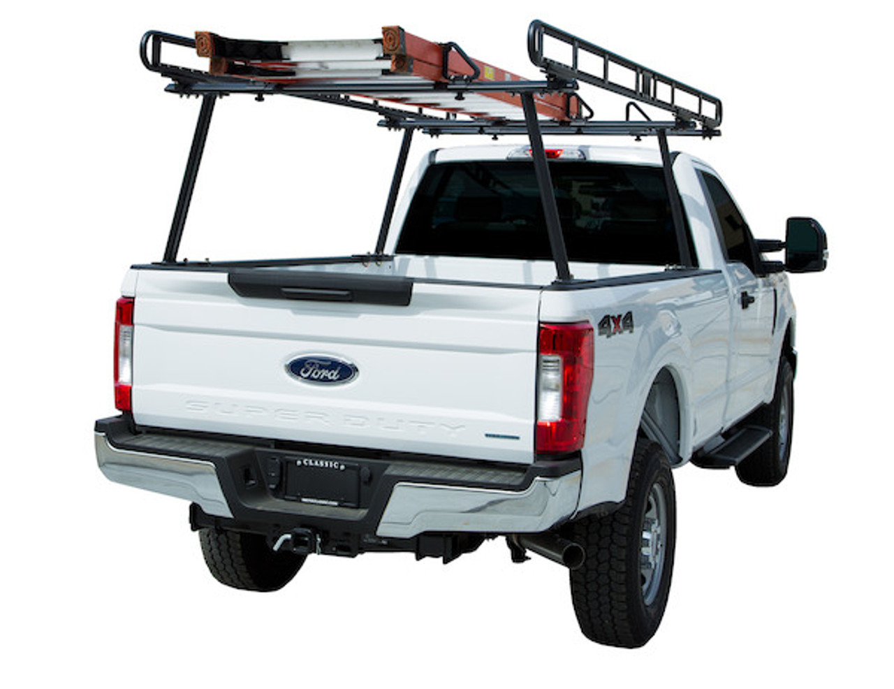 BUYERS 1501410 Black Powder-Coated Aluminum Truck Ladder Rack Picture # 2