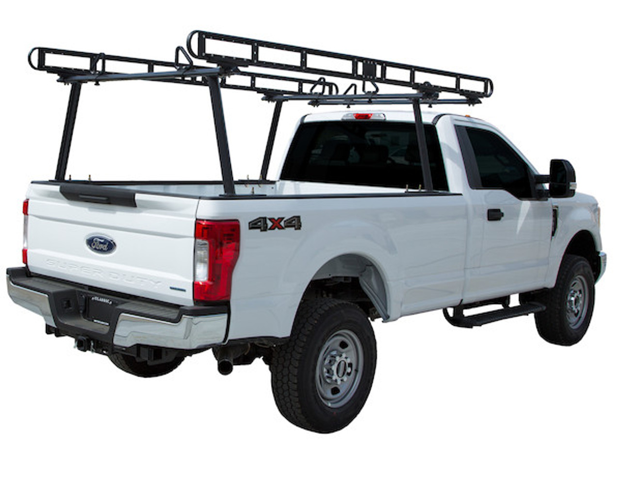 BUYERS 1501410 Black Powder-Coated Aluminum Truck Ladder Rack Picture # 3