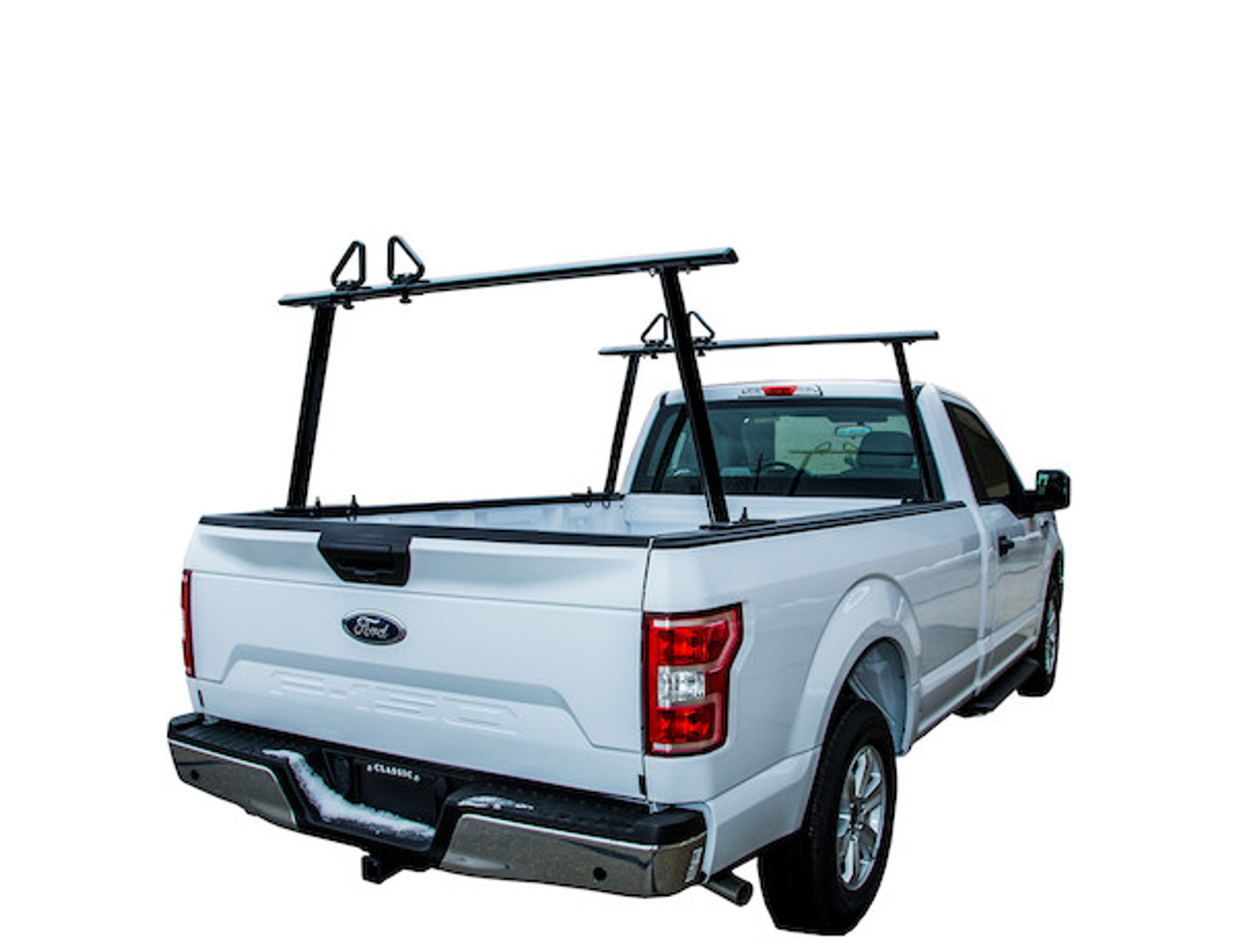 BUYERS 1501680 Black Aluminum Truck Rack for Contractors, Construction, Electricians Picture # 5