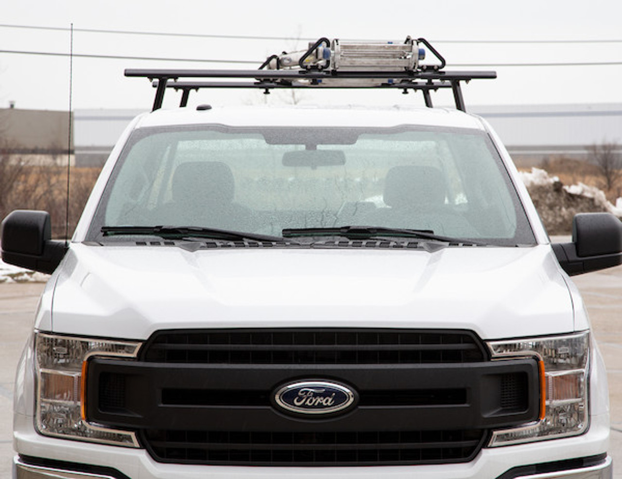 BUYERS 1501680 Black Aluminum Truck Rack for Contractors, Construction, Electricians Picture # 6