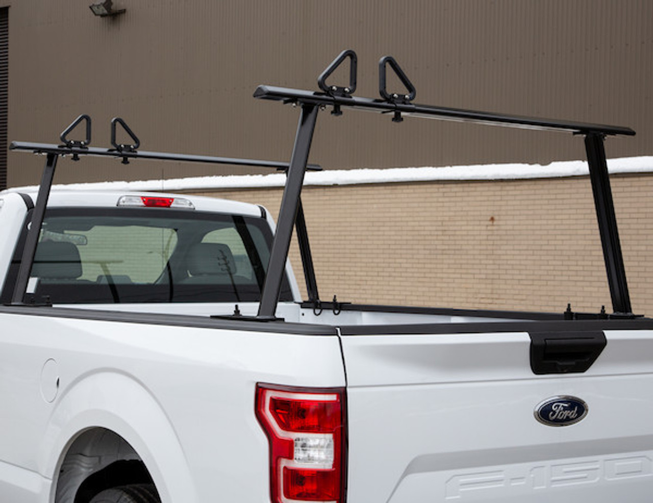 BUYERS 1501680 Black Aluminum Truck Rack for Contractors, Construction, Electricians Picture # 1