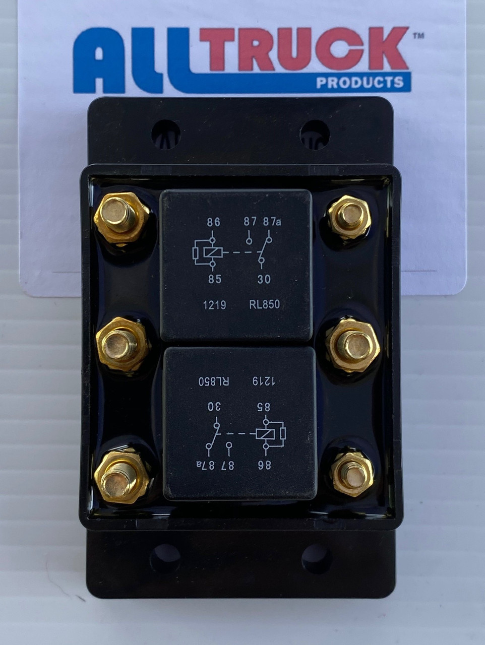 All Truck Products ATP0110 Tarp Motor or Winch Motor - Forward/Reverse Relay Module Six Terminal 12VDC 80 AMPS Picture #1