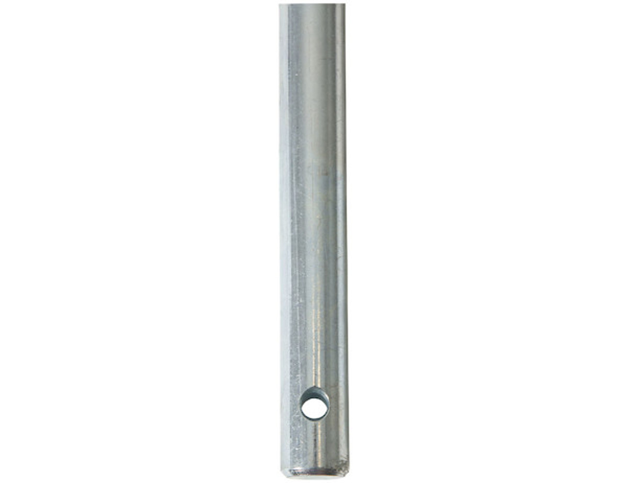 BUYERS 142X150 Replacement 35 Inch Extended Chute Zinc Spinner Shaft For SaltDogg 1400 Series Spreaders 4