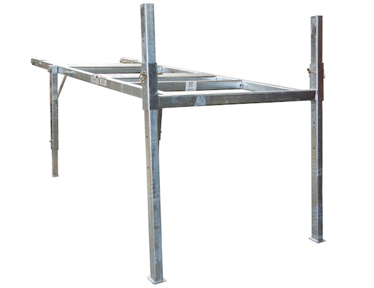 BUYERS 3037146 8 Foot Mid-Size Hot-Dipped Galvanized Spreader Stand for SaltDogg Spreader 2