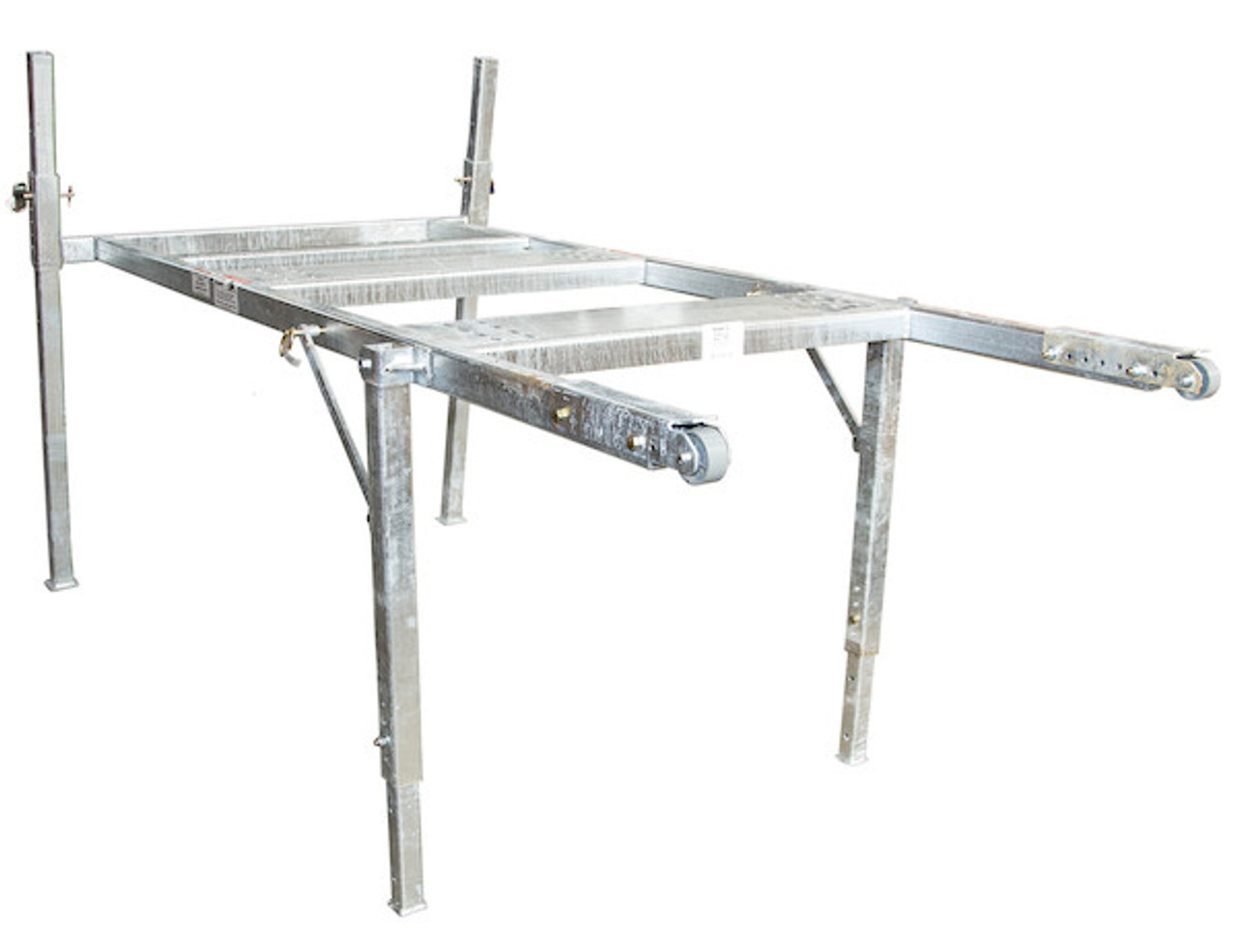 BUYERS 3037146 8 Foot Mid-Size Hot-Dipped Galvanized Spreader Stand for SaltDogg Spreader 3