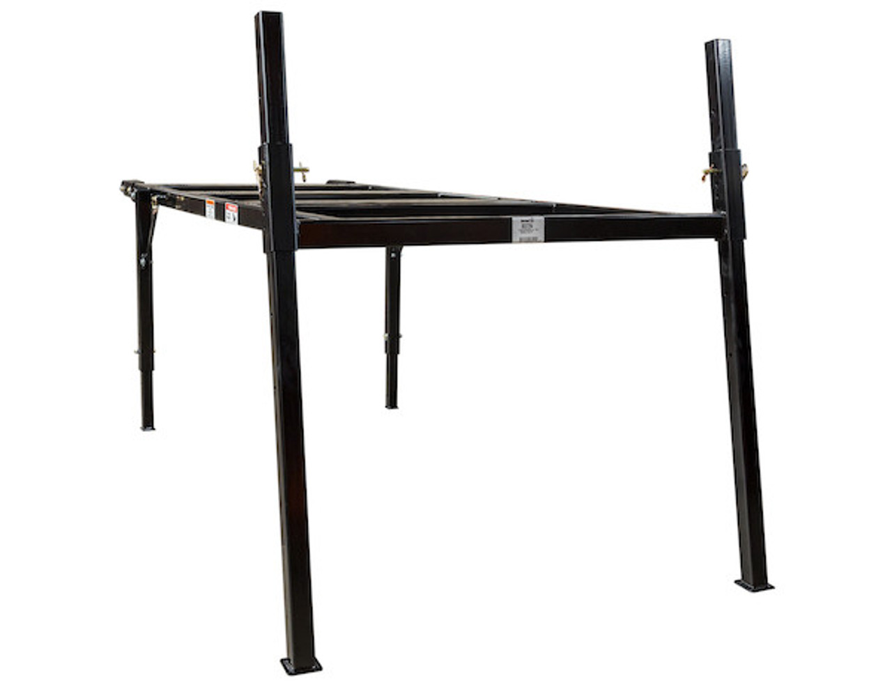BUYERS 3037294 9-10 Foot Mid-Size Black Powder-Coated Spreader Stand for SaltDogg Spreader 1