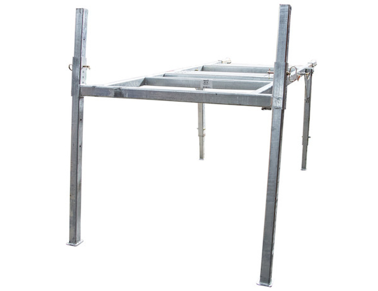 BUYERS 3037295 9-10 Foot Mid-Size Hot-Dipped Galvanized Spreader Stand for SaltDogg Spreader 1