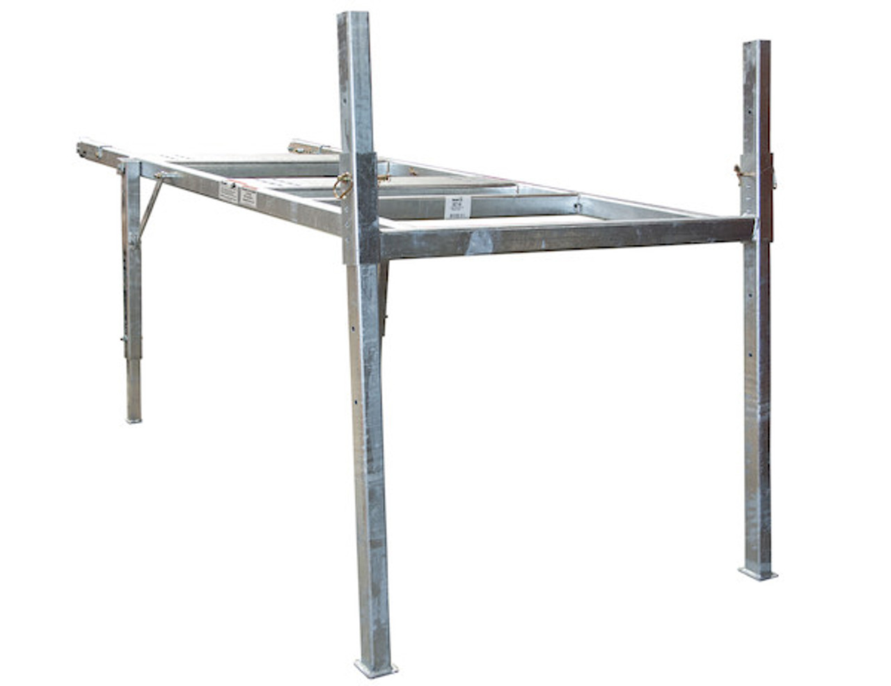 BUYERS 3037295 9-10 Foot Mid-Size Hot-Dipped Galvanized Spreader Stand for SaltDogg Spreader 3