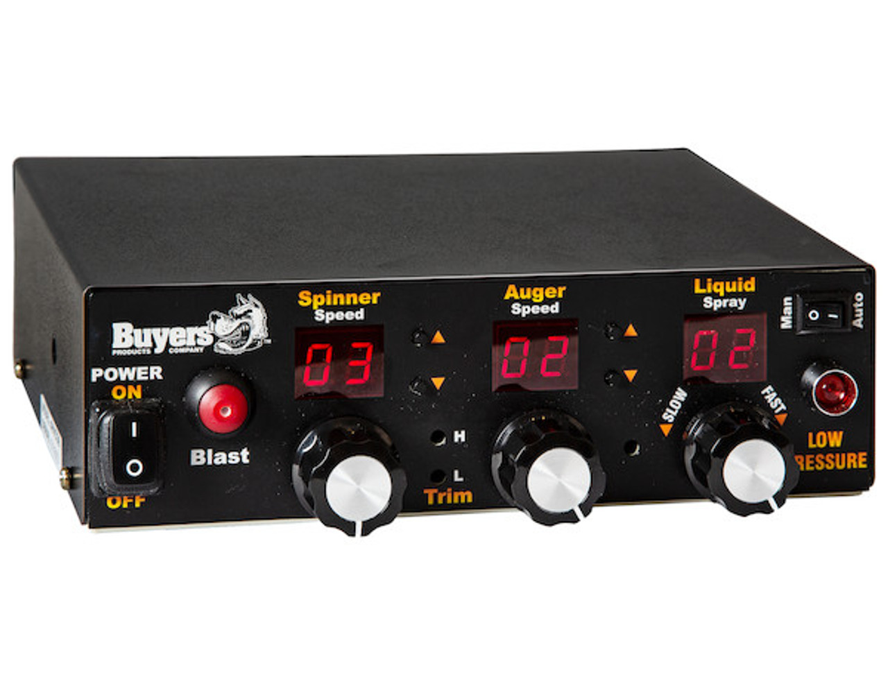 HVCO6 BUYERS PRODUCTS SALTDOGG ELECTRIC/HYDRAULIC SPREADER CONTROLLER WITH GROUND SPEED INPUT AND GPS 2