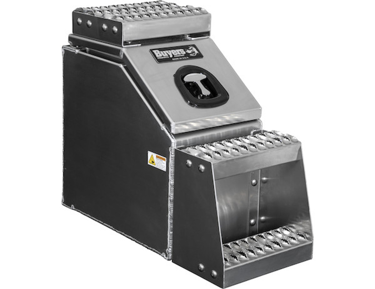 1705280 BUYERS PRODUCTS WideOpen™ Class 8 Step Tool Box For Semi Trucks - 12 Inch Width 3
