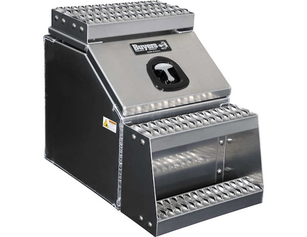 1705281 BUYERS PRODUCTS WideOpen™ Class 8 Step Tool Box For Semi Trucks - 18 Inch Width 1