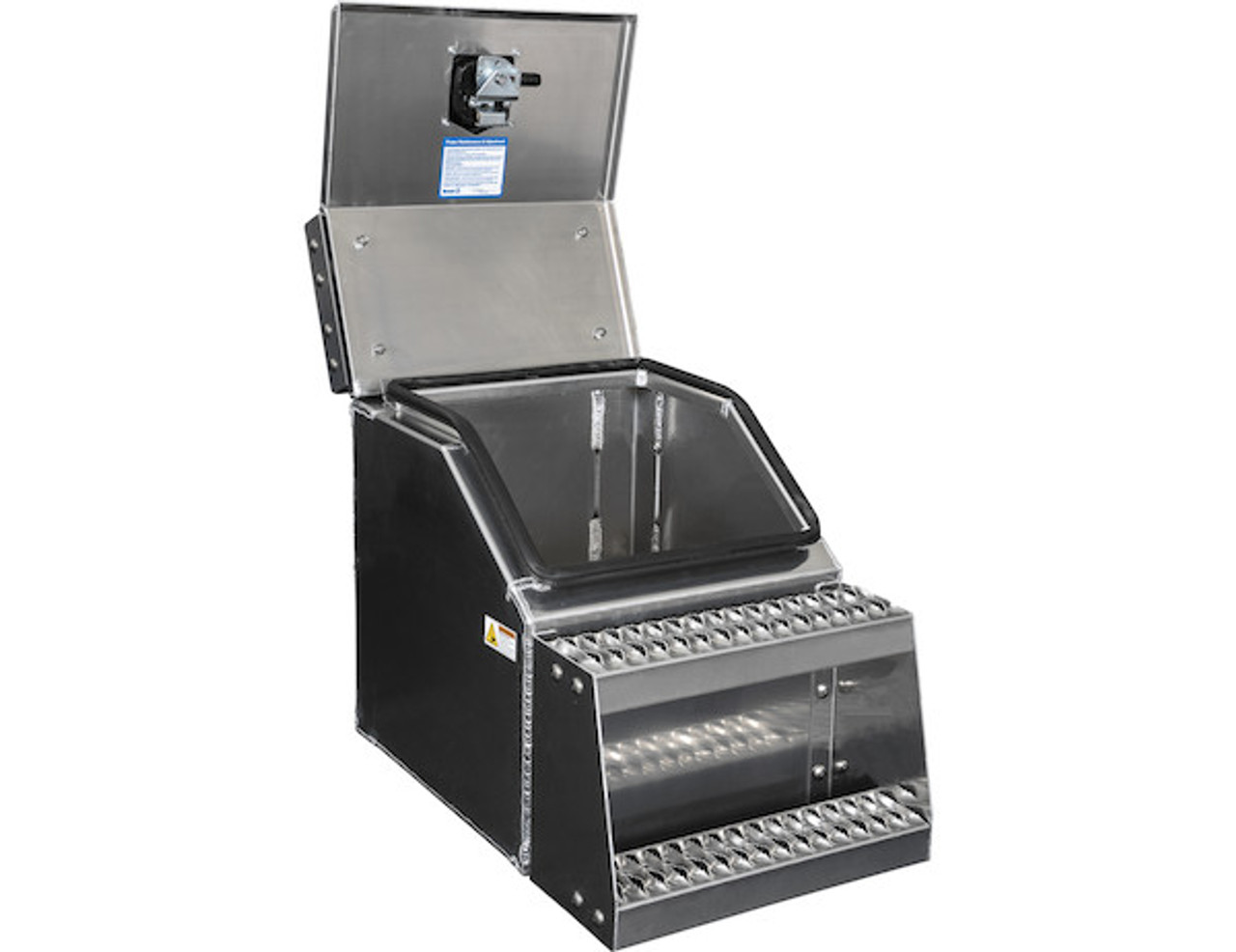 1705281 BUYERS PRODUCTS WideOpen™ Class 8 Step Tool Box For Semi Trucks - 18 Inch Width 2