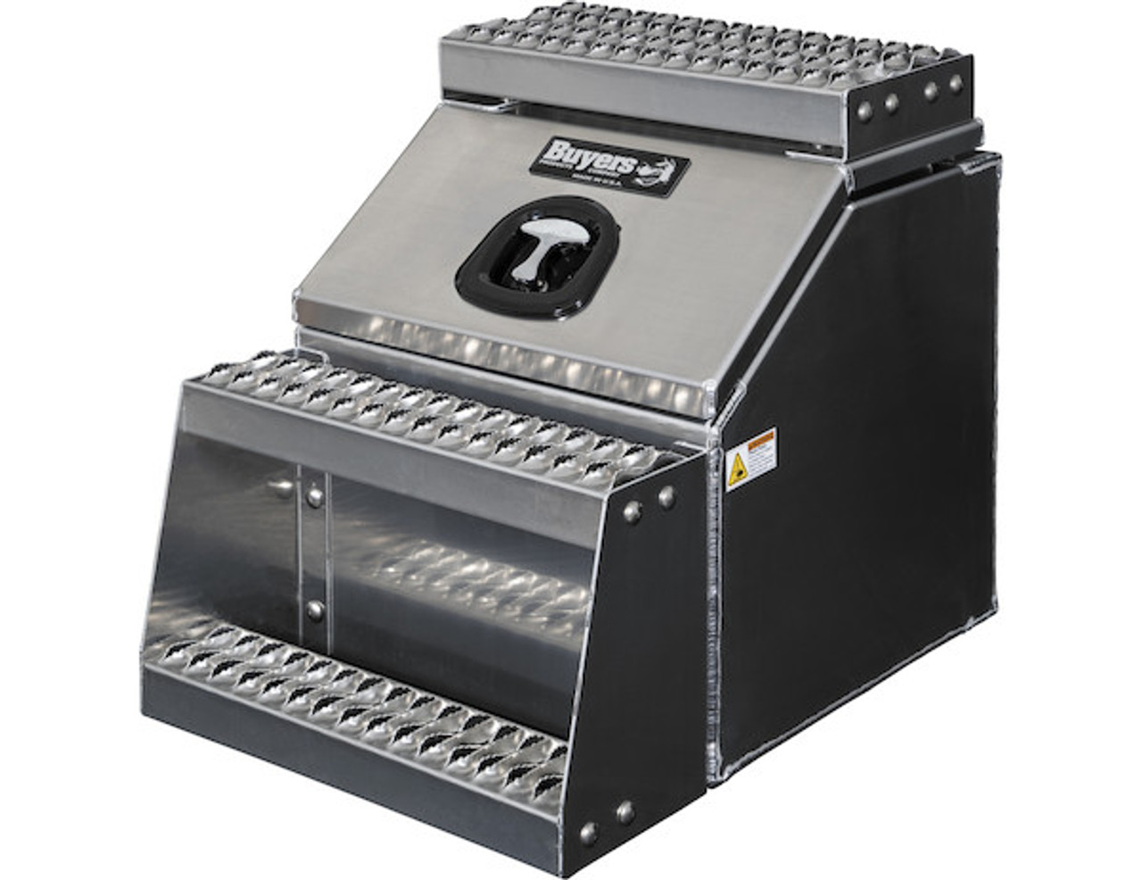 1705281 BUYERS PRODUCTS WideOpen™ Class 8 Step Tool Box For Semi Trucks - 18 Inch Width 3
