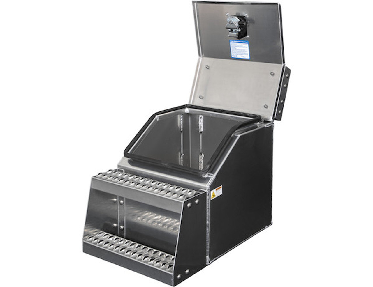 1705281 BUYERS PRODUCTS WideOpen™ Class 8 Step Tool Box For Semi Trucks - 18 Inch Width 4