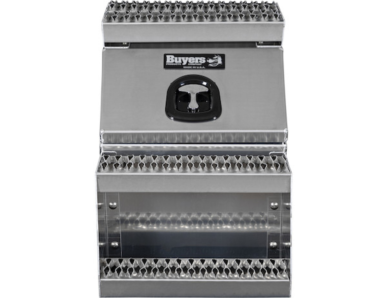 1705281 BUYERS PRODUCTS WideOpen™ Class 8 Step Tool Box For Semi Trucks - 18 Inch Width 7