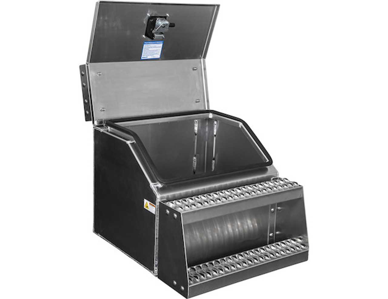 1705282 BUYERS PRODUCTS WideOpen™ Class 8 Step Tool Box For Semi Trucks - 24 Inch Width 2