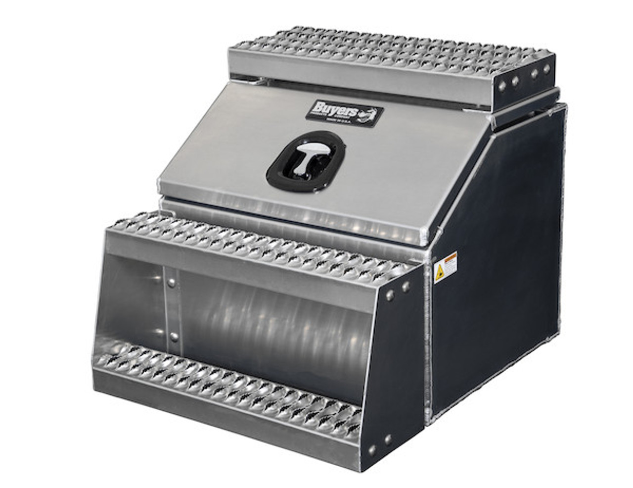 1705282 BUYERS PRODUCTS WideOpen™ Class 8 Step Tool Box For Semi Trucks - 24 Inch Width 3