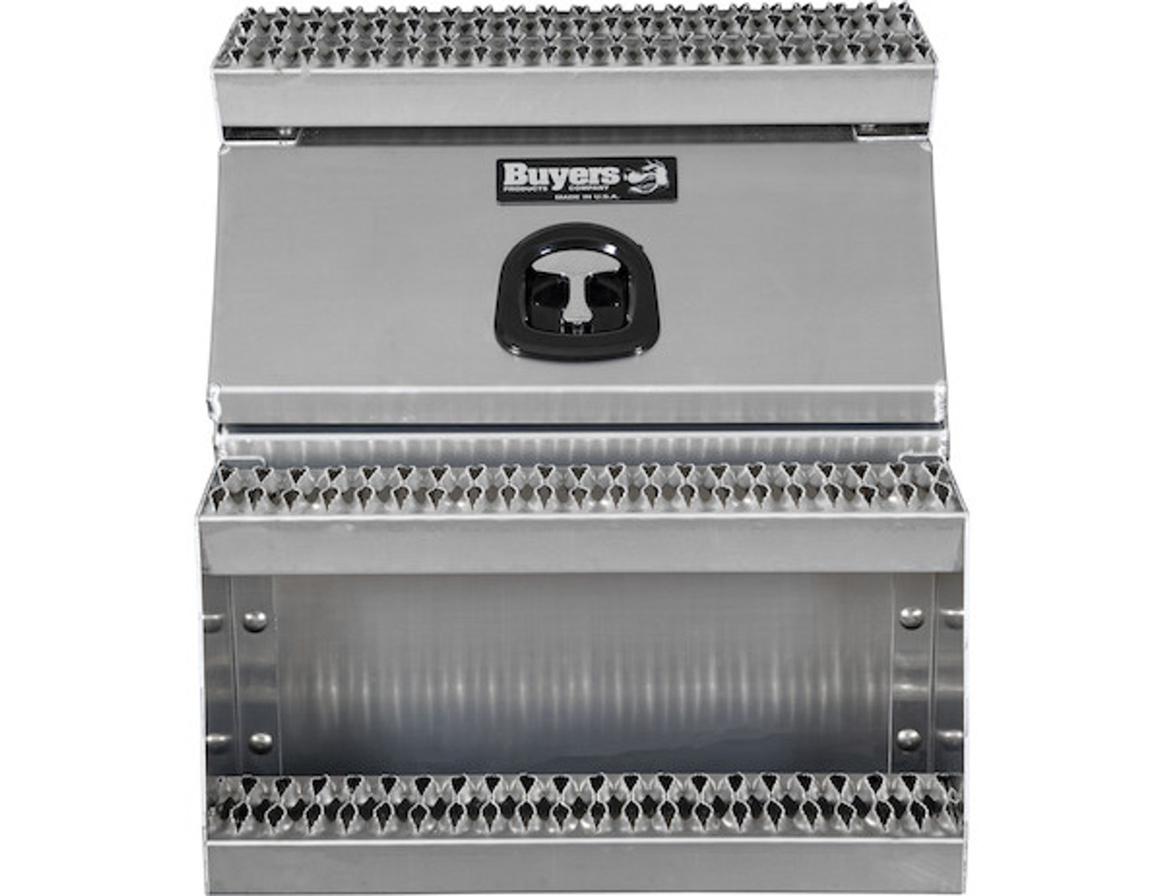 1705282 BUYERS PRODUCTS WideOpen™ Class 8 Step Tool Box For Semi Trucks - 24 Inch Width 7