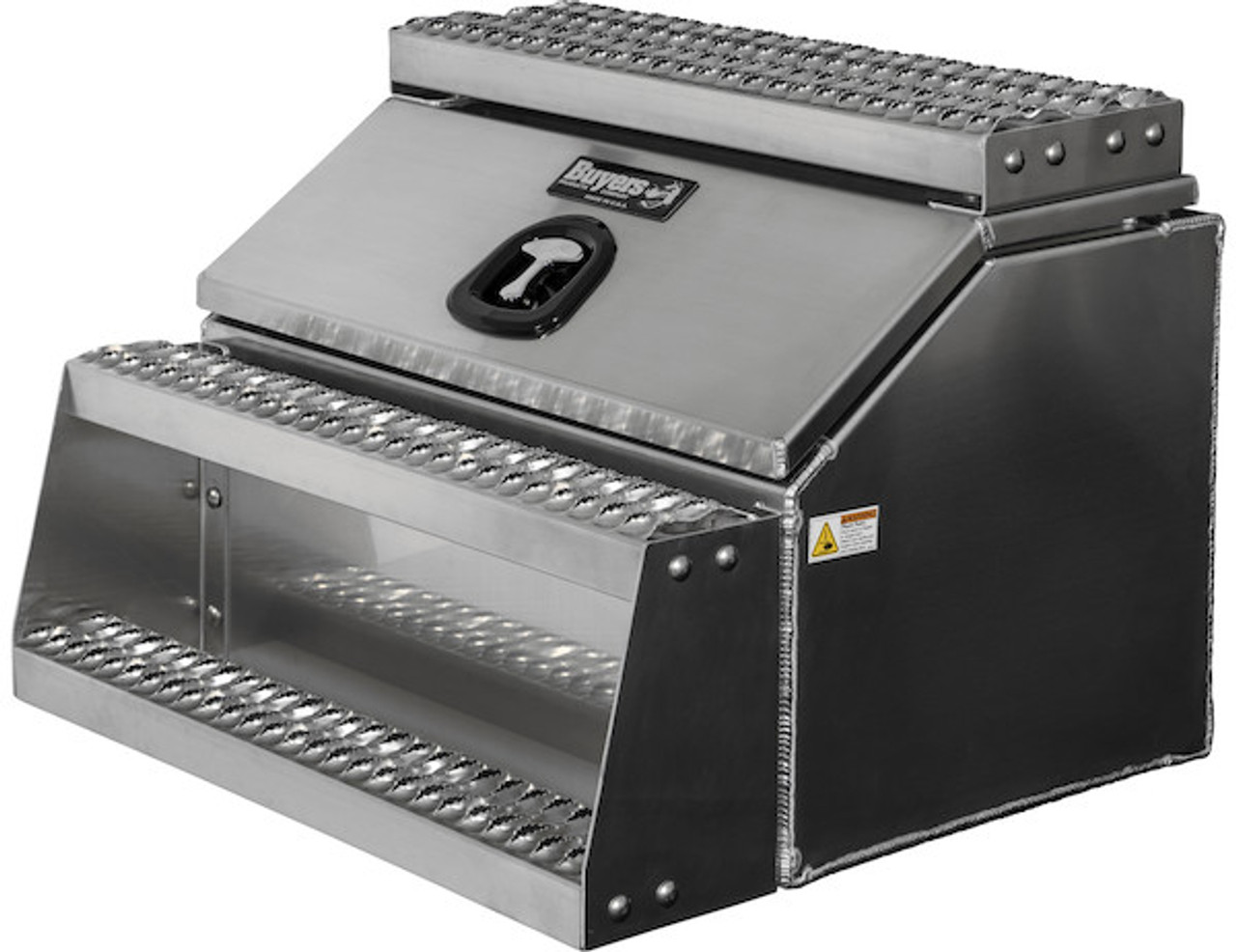 1705283 BUYERS PRODUCTS WideOpen™ Class 8 Step Tool Box For Semi Trucks - 30 Inch Width 1