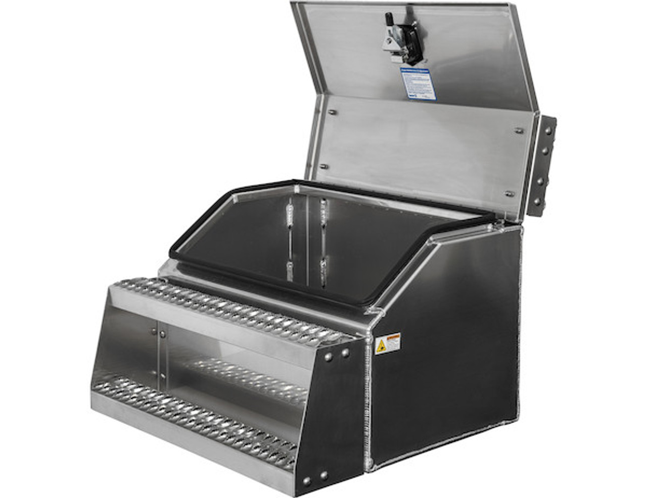 1705283 BUYERS PRODUCTS WideOpen™ Class 8 Step Tool Box For Semi Trucks - 30 Inch Width 2