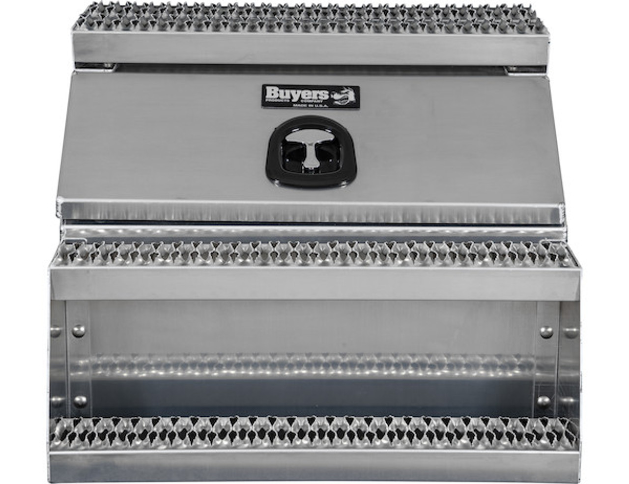 1705283 BUYERS PRODUCTS WideOpen™ Class 8 Step Tool Box For Semi Trucks - 30 Inch Width 4
