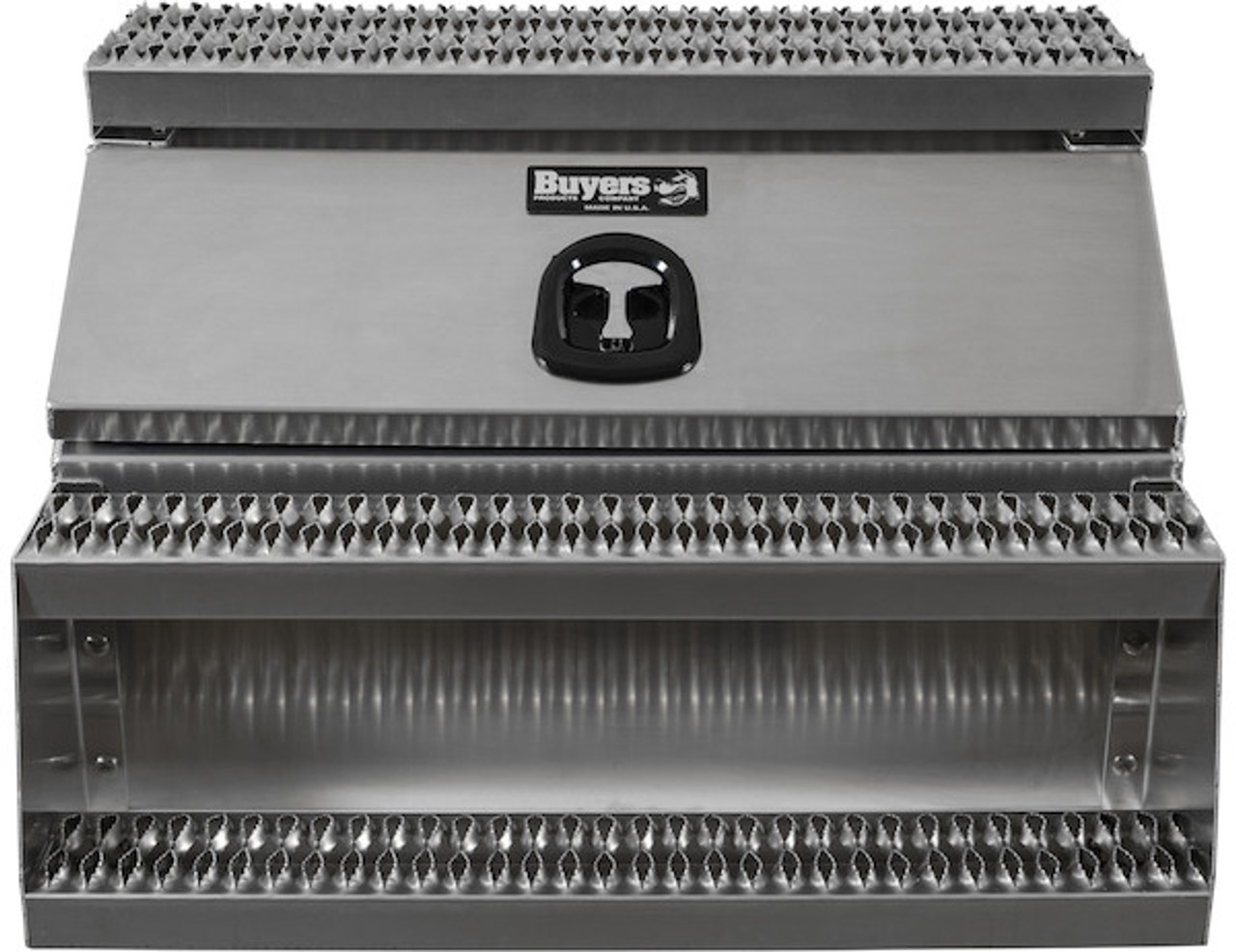 1705284 BUYERS PRODUCTS WideOpen™ Class 8 Step Tool Box For Semi Trucks - 36 Inch Width  1