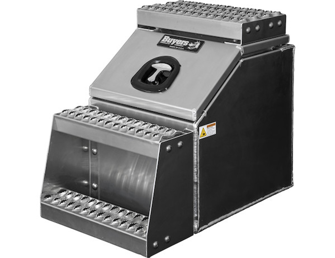 1705285 BUYERS PRODUCTS WideOpen™ Class 8 Step Tool Box For Semi Trucks - 16 Inch Width 3