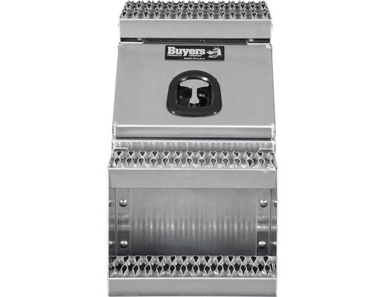 1705285 BUYERS PRODUCTS WideOpen™ Class 8 Step Tool Box For Semi Trucks - 16 Inch Width 7