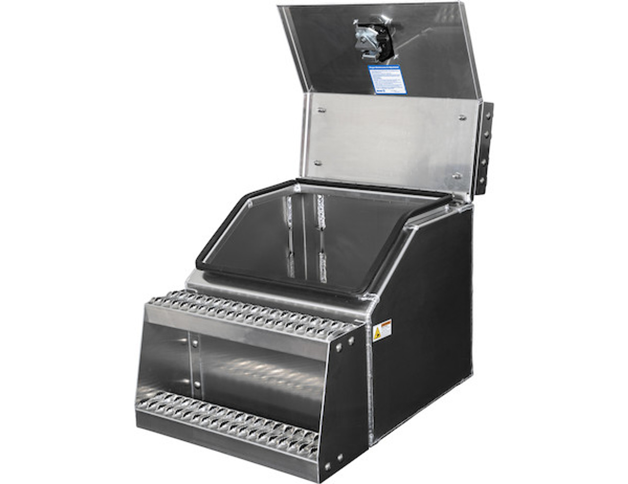 1705286 BUYERS PRODUCTS WideOpen™ Class 8 Step Tool Box For Semi Trucks - 22 Inch Width 1