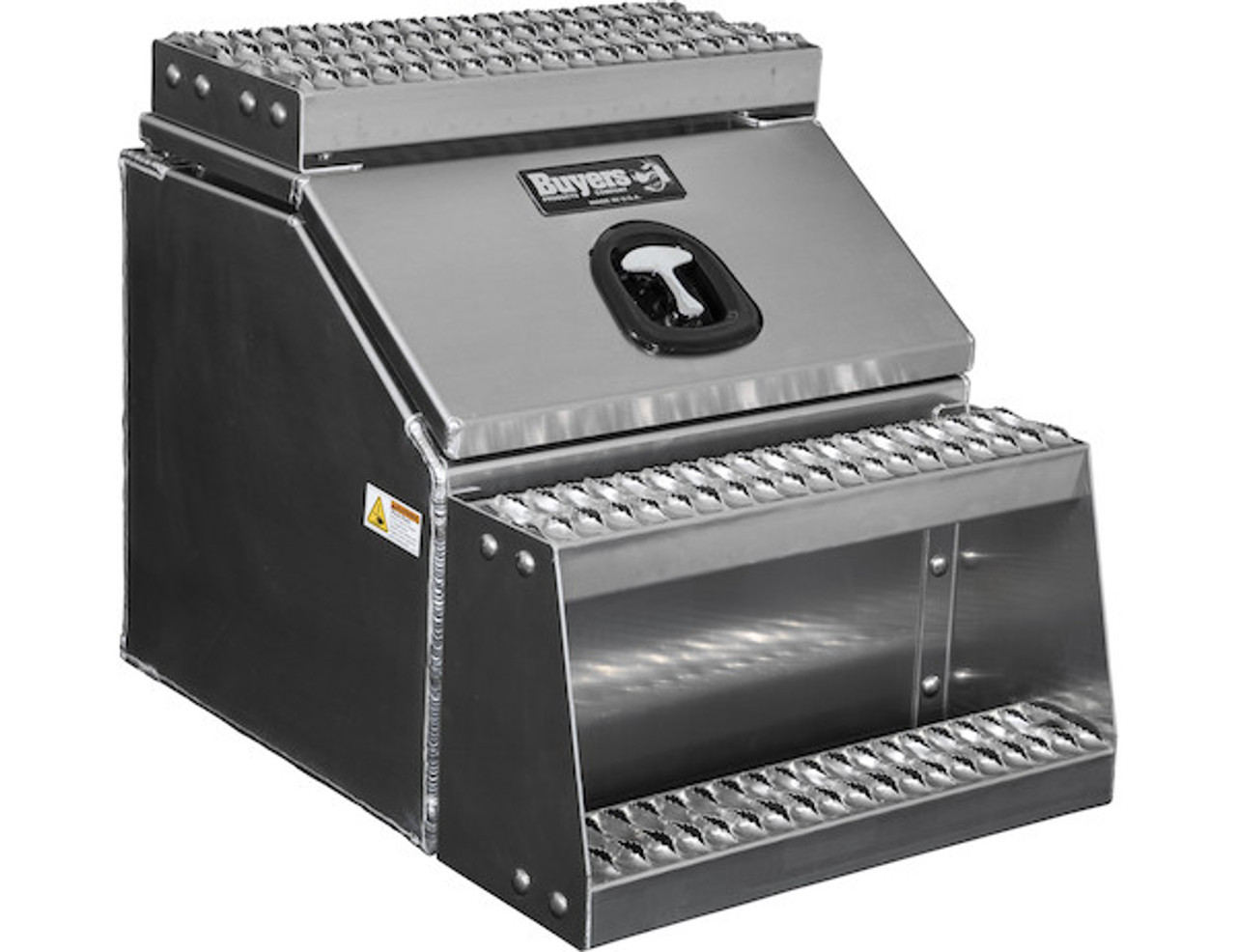 1705286 BUYERS PRODUCTS WideOpen™ Class 8 Step Tool Box For Semi Trucks - 22 Inch Width 3