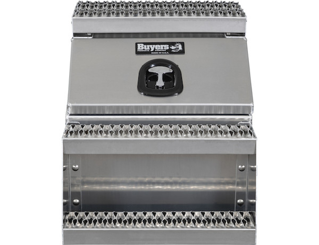 1705286 BUYERS PRODUCTS WideOpen™ Class 8 Step Tool Box For Semi Trucks - 22 Inch Width 7