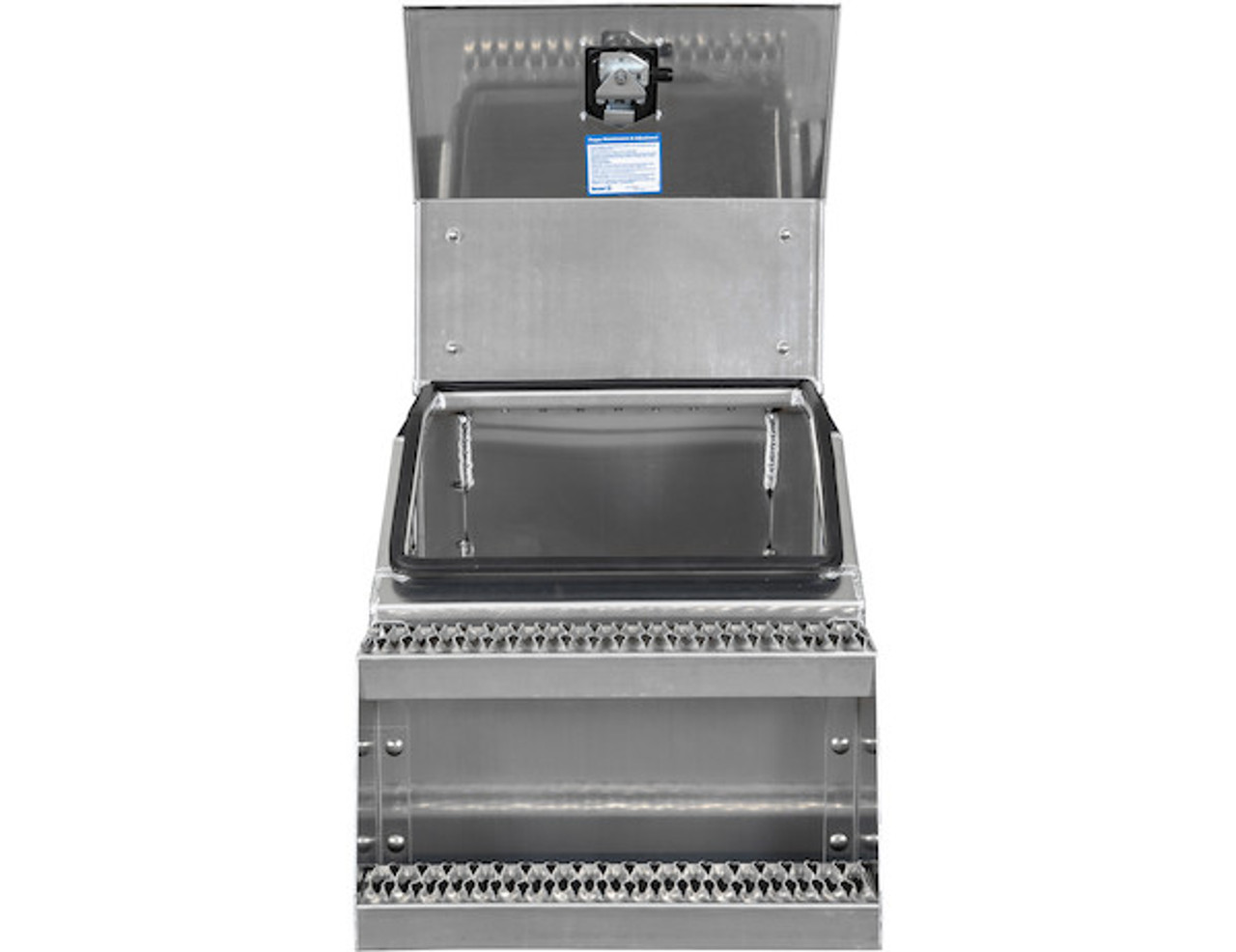1705286 BUYERS PRODUCTS WideOpen™ Class 8 Step Tool Box For Semi Trucks - 22 Inch Width 8