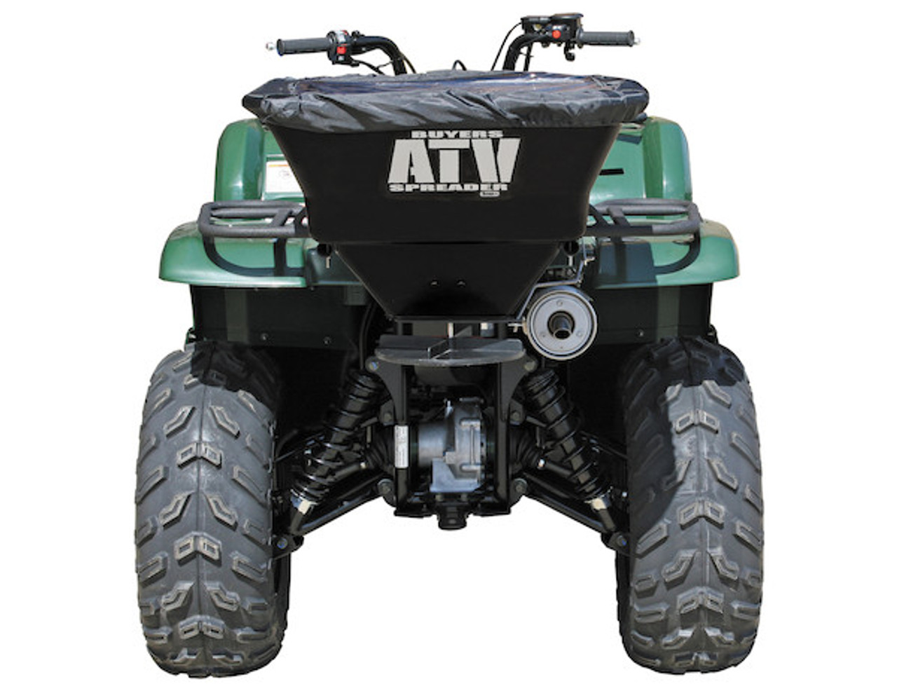 Buyers ATVS100 ATV All Purpose Spreader - Horizontal Mount 1
