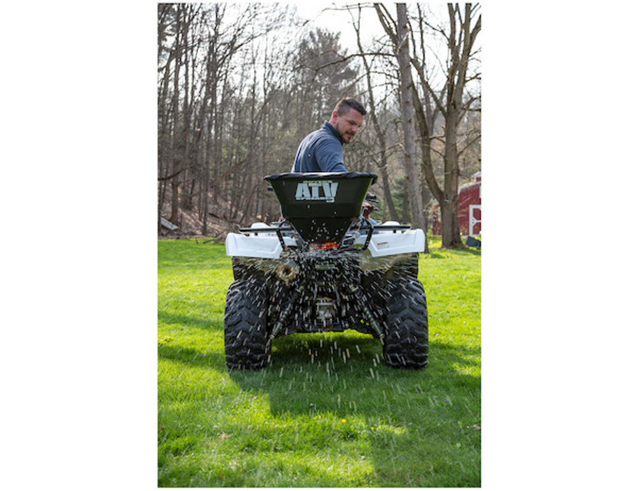 Buyers ATVS100 ATV All Purpose Spreader - Horizontal Mount 5