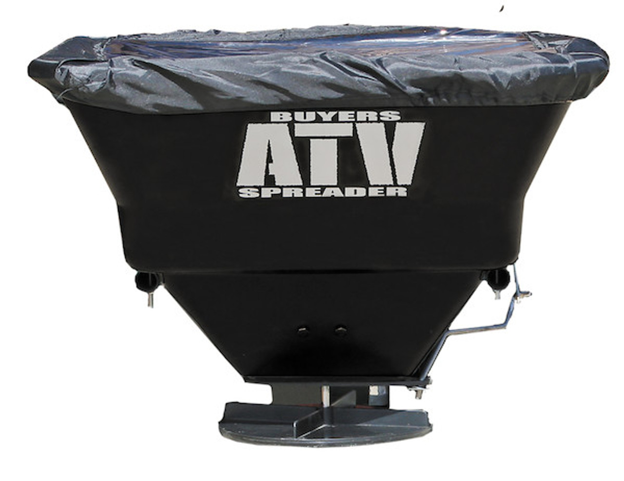 Buyers ATVS100 ATV All Purpose Spreader - Horizontal Mount 3