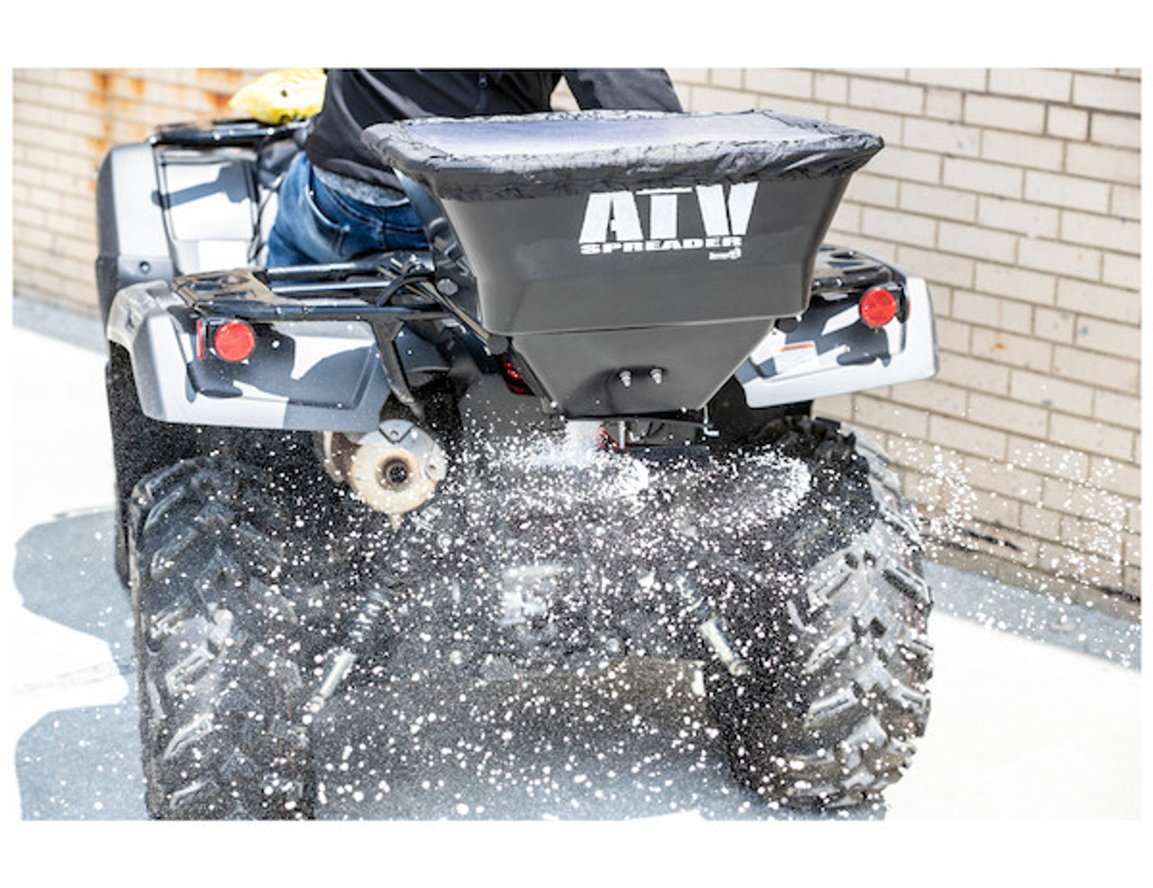 Buyers ATVS100 ATV All Purpose Spreader - Horizontal Mount 7