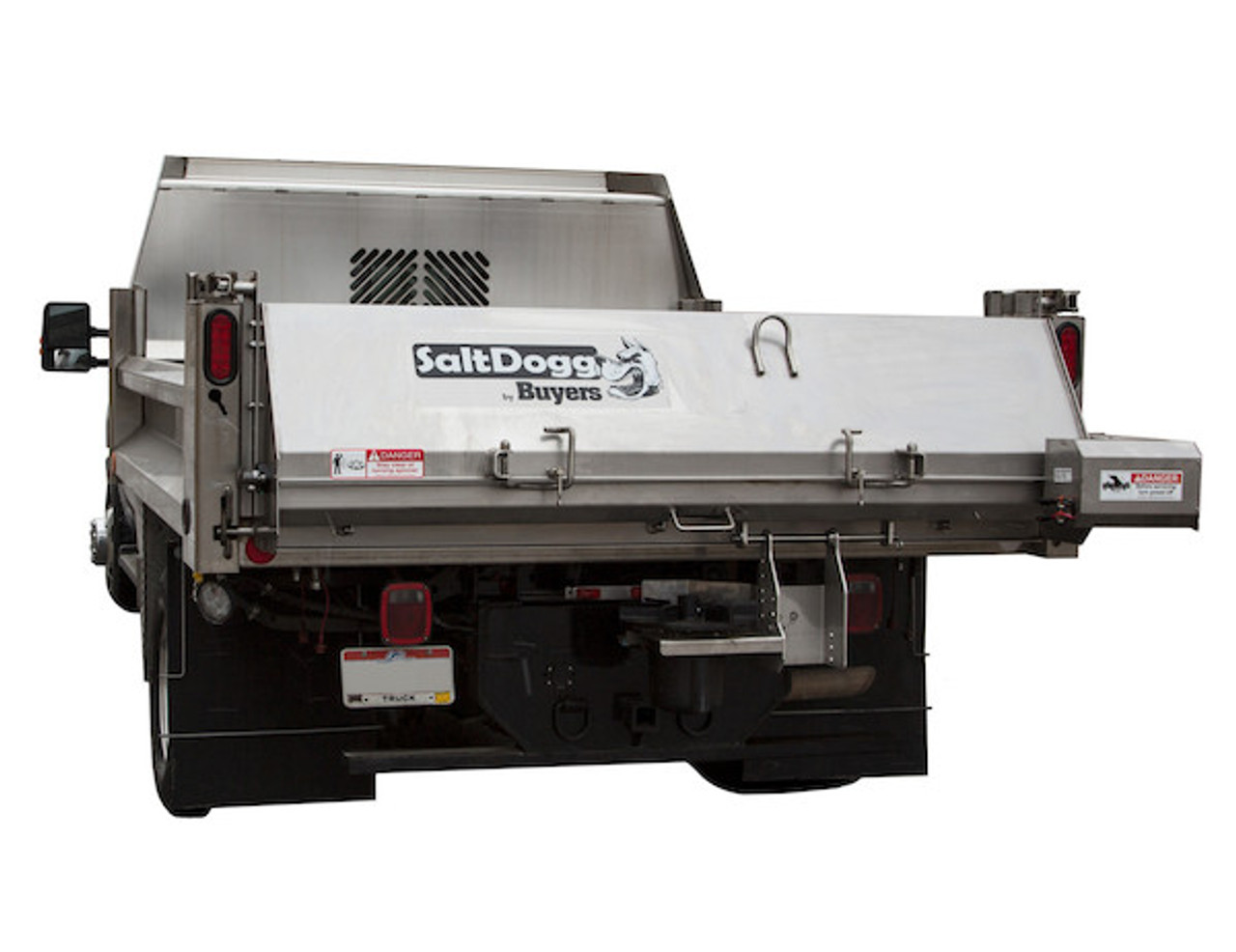 92420A BUYERS SALTDOGG HYDRAULIC CARBON STEEL UNDER TAILGATE SALT SPREADER