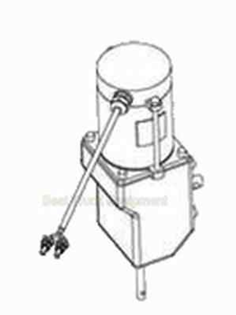 3015377 BUYERS SALTDOGG REPLACEMENT .5 HP 12 VDC DUAL SHAFT GEAR MOTOR FOR TGS03 AND TGS07 2