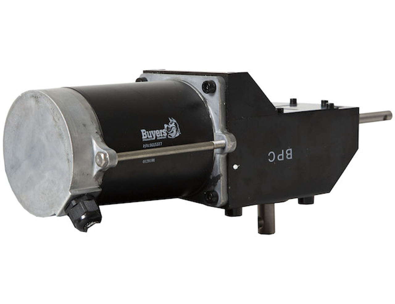 3015377 BUYERS SALTDOGG REPLACEMENT .5 HP 12 VDC DUAL SHAFT GEAR MOTOR FOR TGS03 AND TGS07 5