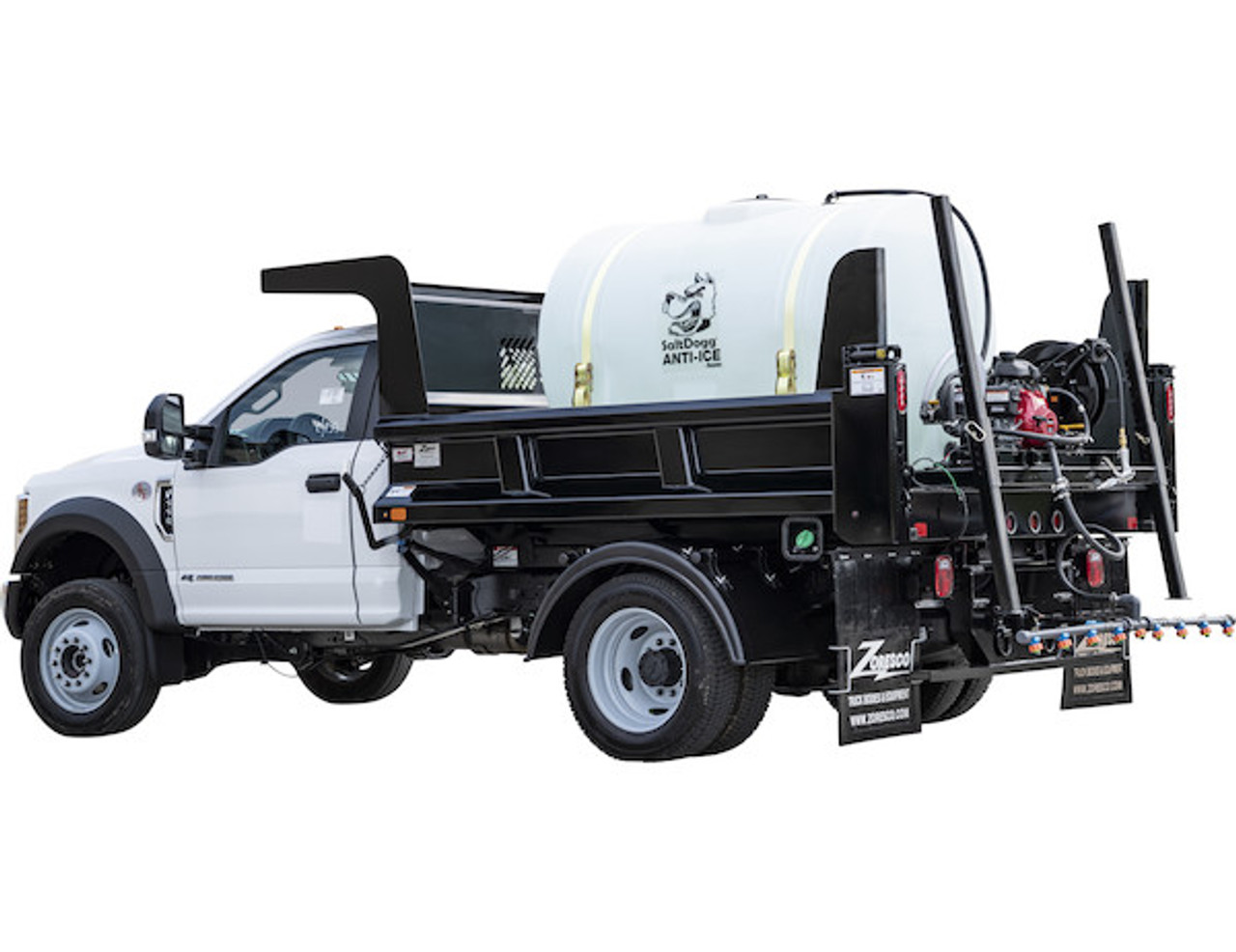 6191120 BUYERS SALTDOGG 550 GALLON GAS-POWERED ANTI-ICE SYSTEM WITH MANUAL APPLICATION RATE CONTROL 4
