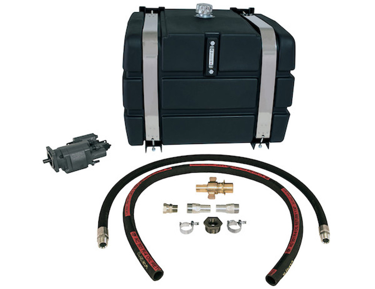 M-SMWLK50PDMCW BUYERS SALTDOGG 50 Gallon Side-Mount Reservoir/Direct Mount Pump Wetline Kit