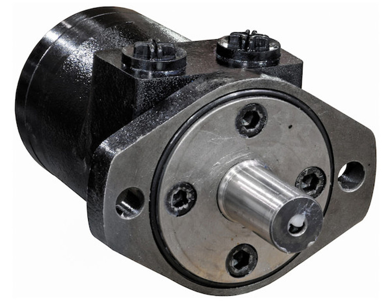 CM032P BUYERS SALTDOGG HYDRAULIC MOTOR WITH 2-BOLT MOUNT/NPT THREADS AND 7.3 CUBIC INCHES DISPLACEMENT