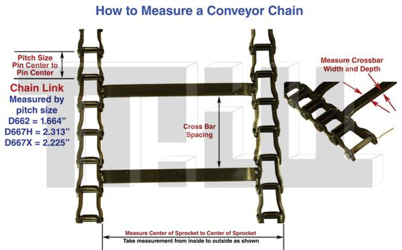 1450156 Spreader Hopper Conveyor Drag Chain DESCRIPTION